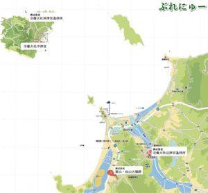 沖ノ島 世界遺産 場所